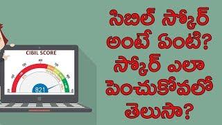 How to Improve Credit Score in Telugu   Money Doctor Show on TV5 Telugu   Episode 14