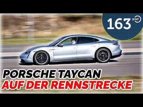 Porsche Taycan auf der Rennstrecke - Rundkurs, Driften, Launch-Control, 0-100,  Slalom - 163 Grad