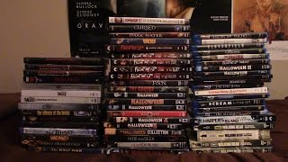 My ENTIRE Horror Movie Collection on Blu-Ray and DVD