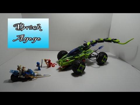 Vidéo LEGO Ninjago 9445 : L'attaque du buggy Fangpyre