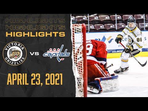 Grizzlies VS Capitals | April 23rd | HIGHLIGHTS