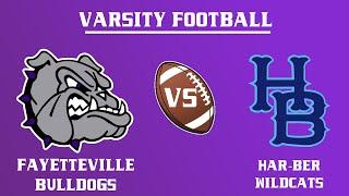 Varsity Football I  Har-Ber @ Fayetteville