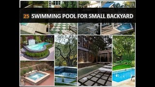 25 Amazing Swimming Pool Ideas For Small Backyard - DecoNatic