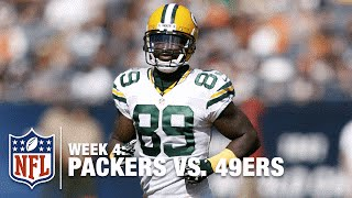 Aaron Rodgers' Perfect Throw to James Jones on the Sideline | Packers vs. 49ers | NFL