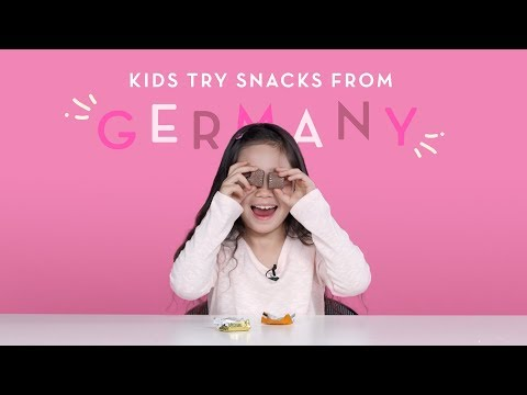 Kids Try Snacks from Germany