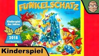Funkelschatz (Kinderspiel des Jahres 2018) - Review mit Hunter