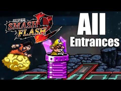 SUPER SMASH FLASH 2 BETA - смотреть онлайн на Hah Life