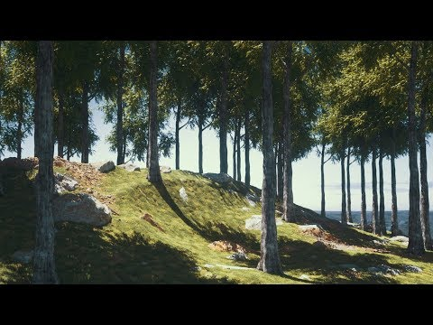 Cinema 4D Tutorial – Create Digital Nature Renders Using Octane [Part 1]