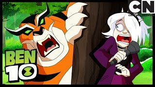 Ben 10 | Gwen Swaps Bodies With Charmcaster | Charm School's Out | Cartoon Network