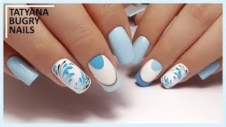 Detailed Correction of Increased Nail / WINTER Manicure / Tatyana Bugry