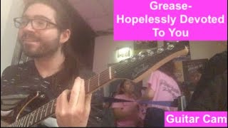 hopelessly devoted to you cover guitar - TH-Clip