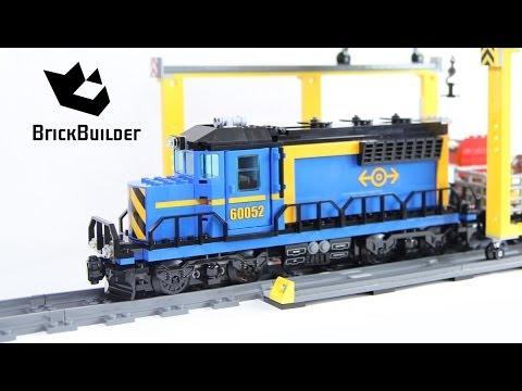 LEGO City 60052 pas cher - Le train de marchandises