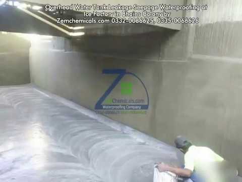 Water Tank Leakage Repair Waterproofing