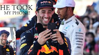 When Daniel Ricciardo Took My Phone! 😂 Suzuka Grand Prix Japan | Lewis Hamilton Vlogs