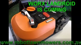 Worx Landroid is Coming to Robot Lawn Mowers Australia