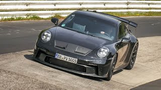 2021 Porsche 992 GT3, 718 GT4 RS & 992 Turbo S Exhaust SOUNDS on the Nürburgring!