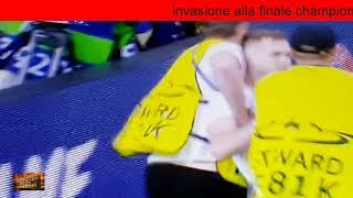 invasione in finale champions league