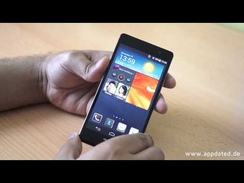 Youtube Video Huawei Ascend P6 pink