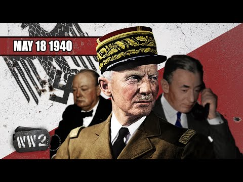 Blitzkrieg na západní frontě - Druhá světová válka