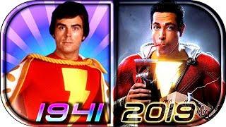 EVOLUTION of SHAZAM / Captain Marvel in Movies Cartoons TV (1941-2019) SHAZAM! full movie scene 2019