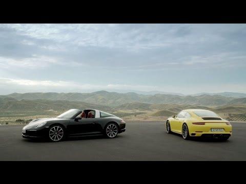 The new 911 Carrera 4 & Targa 4 models. Ever ahead.