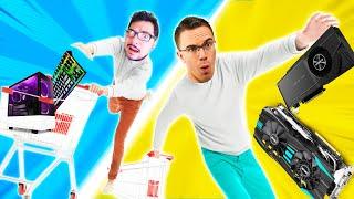 BROKE vs PRO Gaming PC Challenge
