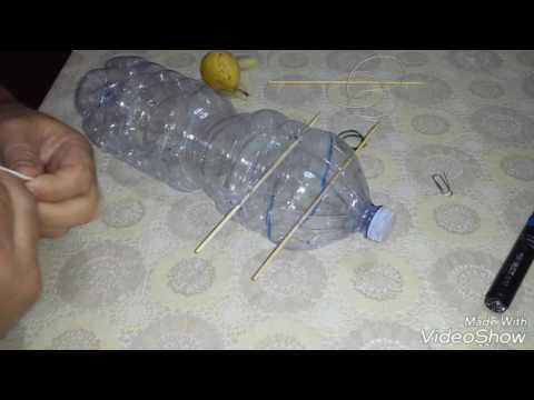 Trappola x topi zoccole sorci, con una bottiglia di plastica poco tempo 0 spesa. catch mice rat trap