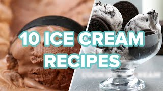 10 Ice Cream Recipes To Keep You Cool All Summer • Tasty