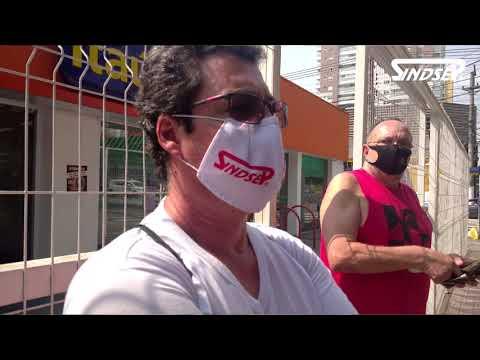 Manifestação protesta contra planos de terceirização no Hospital do Tatuapé