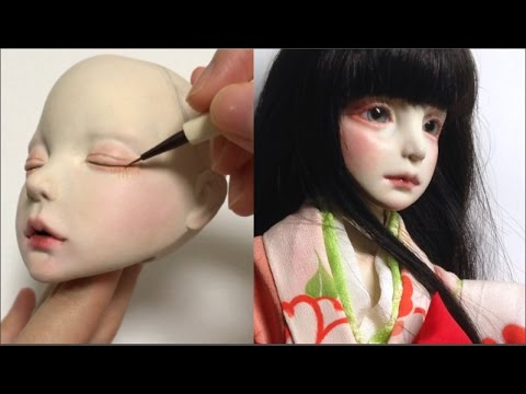 clay sculpture doll tutorial by azusa chiyoda