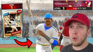 facing a PRESTIGE player who had RED REGGIE JACKSON.. INSANE ENDING! (mlb the show 20)