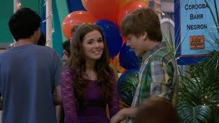 Zoey Deutch Suite Life on Deck Maya and Zack Kiss