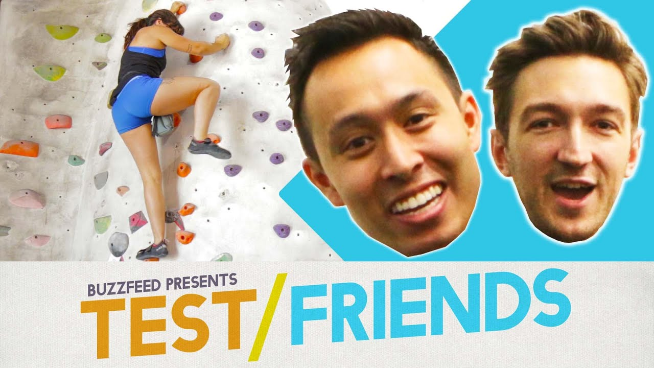 Can You Rock Climb Without Ropes? • The Test Friends thumbnail