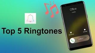 Top 5 Best Ringtones 2018 + download links