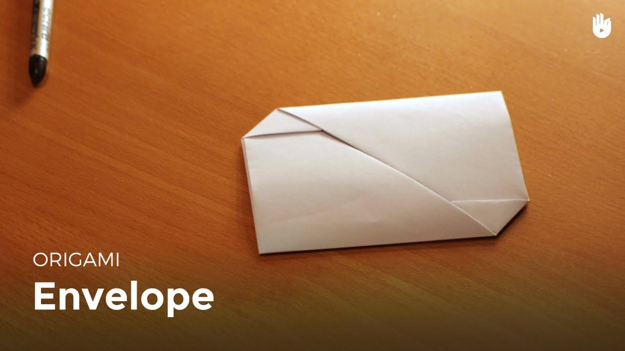 comment faire une enveloppe avec une feuille de papier. Black Bedroom Furniture Sets. Home Design Ideas