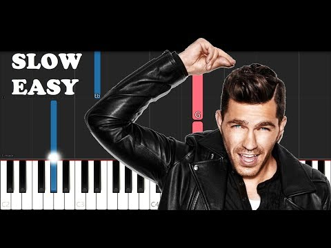 Andy Grammer - Don't Give Up On Me (From Five Feet Apart)(SLOW EASY PIANO TUTORIAL)