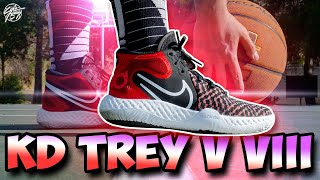 Nike KD Trey 5 VIII Performance Review! The BEST $90 Budget Shoe?!