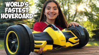 World's Fastest Hoverboard Speed Test and Music Video ⚡
