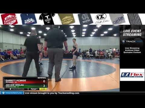 Mat 10 106 Garrett McBride Oklahoma Vs Archer Heelan Nebraska Red