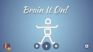 Brain It On! - Physics Puzzles YouTube video