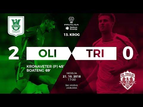 NK Olimpija Ljubljana 2-0 NK Triglav Kranj :: Videos