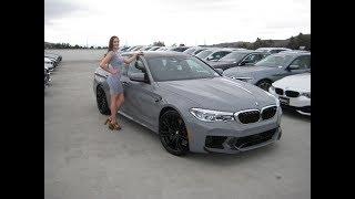 2018 BMW M5 in Nardo Grey / Exhaust Sound / 600 HP / F90 / BMW Review   Kholo.pk
