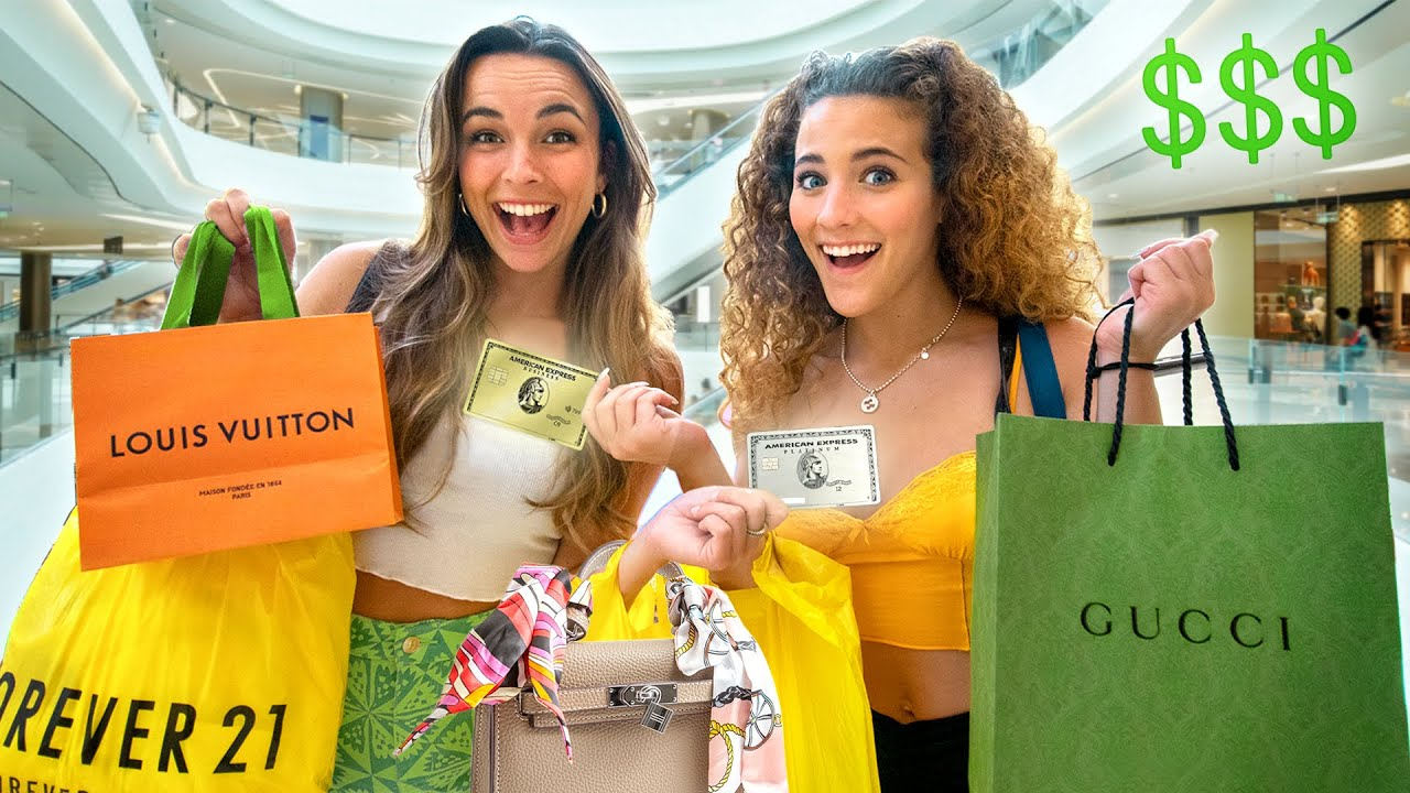 WE SWAPPED CREDIT CARDS FOR A DAY! w/ Pierson thumbnail