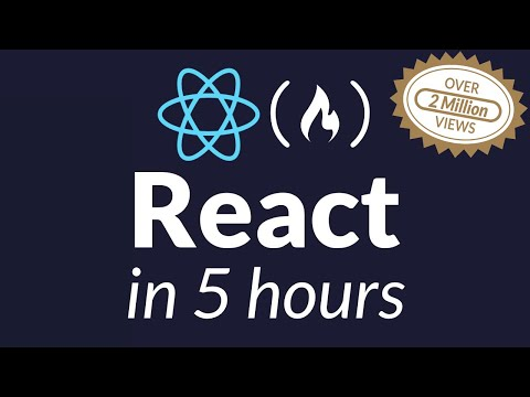 Learn React.js – Full Course for Beginners – Tutorial