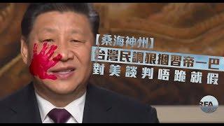 【桑海神州】2019年1月9日 台灣民調狠摑習帝一巴,對美談判唔跪就假!