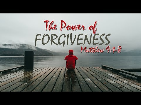 Matthew 9: 1-8 (Pastoral Intern David Bowman) 08/19/2018