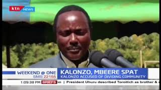 Kalonzo Musyoka accused of diving the Mbeere community