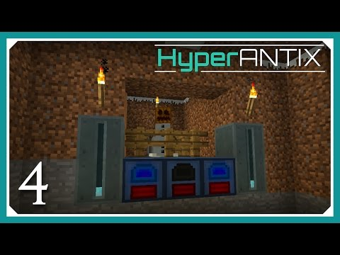 Minecraft HyperAntix Modpack | Frosty Generators | E04 (Modded Minecraft 1.10.2 SMP)