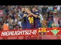 Resumen de FC Barcelona vs Real Betis (2-0)