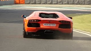 BEST SUPERCAR SOUNDS (vol 3) - 2018 TRACK DAY - F12, Aventador, M3 & more